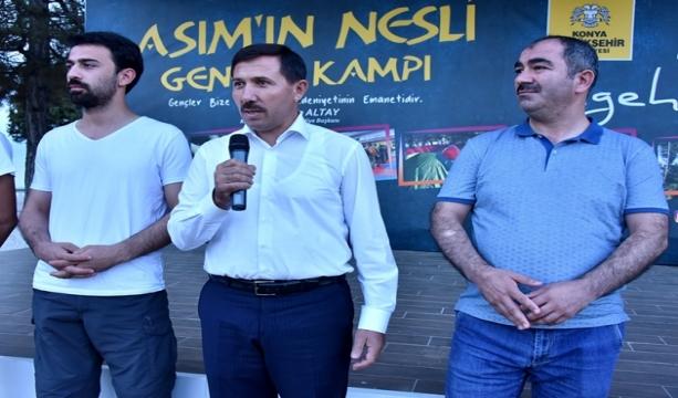 BAŞKAN KILCA, ATABEY GENÇLİK KAMPI'NDA GENÇLERLE BULUŞTU