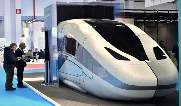 """Hyve Group'un Türkiye'de düzenlediği """"Uluslararası Demiryolu, Hafif Raylı Sistemler ve Lojistik Fuarı Eurasia Rail Fuarı'nın 9.'su 3-5 Mart 2021 tarihleri arasında TÜYAP Konya Fuar Merkezi'nde gerçekleştirilecek."""