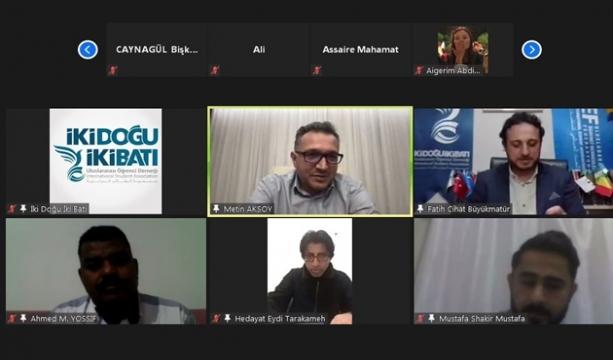 Selçuk Üniversitesi Rektörü AKSOY, Uluslararası Öğrencilerle Buluştu