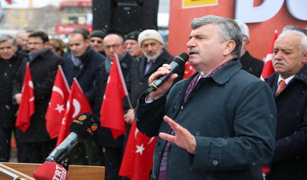 """Büyükşehir'den """"Her An Dua Her Yer Türk Bayrağı"""" Kampanyası"""
