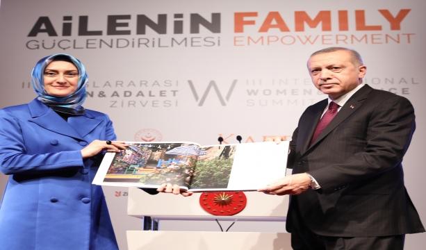 Cumhurbaşkanı'nın katılımıyla III. Uluslararası Kadın ve Adalet Zirvesi Başladı