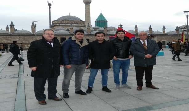 Özbek Turizmcilerin Konya İlgisi