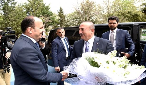 Dışişleri Bakanı Çavuşoğlu'ndan Büyükşehir'e Ziyaret